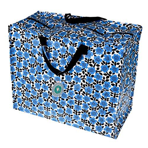 Dotcomgiftshop XXL Jumbo Tasche Astrid Flower (Jumbo Kunststoff Geschenk-taschen)
