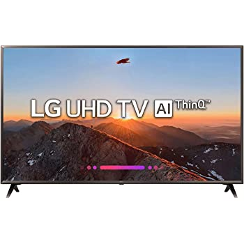 LG 164 cm (65 inches) 65UK6360PTE 4K UHD LED Smart TV (Black)