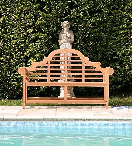 Teak Garden Bench - Lutyens (5ft/ 150cm)