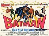 Vieux Tin Sign Batman Vintage classique vintage Movie Poster Made in the USA