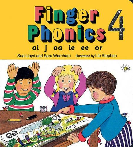 Finger phonics book Per la Scuola elementare Con espansione online: 4 (Jolly Phonics: Finger Phonics)
