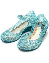 Katara - Frozen Prinzessin Elsa, Anna, Cinderella Absatz-Schuhe für Kinder in versch. Farben und Größen