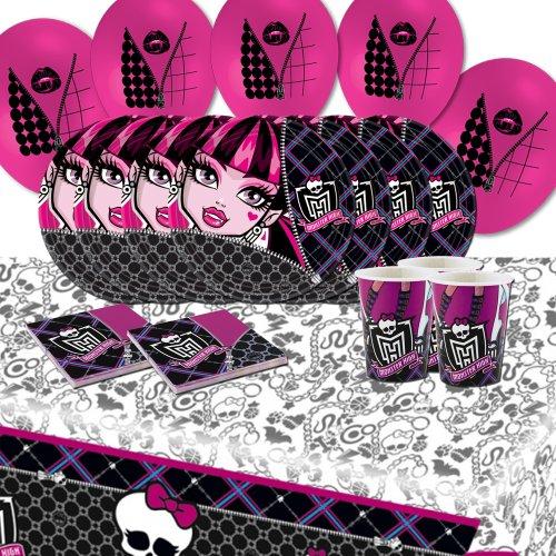 Kit de fête d'anniversaire Monster High pour 16