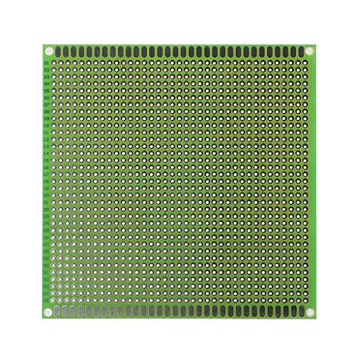 REMO-Y 10x10 cm Einseitig Prototyp PCB Verzinnt DIY Universal FR4 Leiterplatte Elektronische Bauteile -