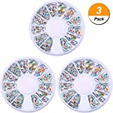 3 Pack Nail Art Gems Resin 3D Acrylic - Best Reviews Guide