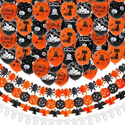 Nera Pipistrello Halloween Decorazione Festa Horror Creepy