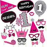 #4: Party Propz Girls 1st Birthday Photo Booth Props /1st birthday props/birthday photo booth props