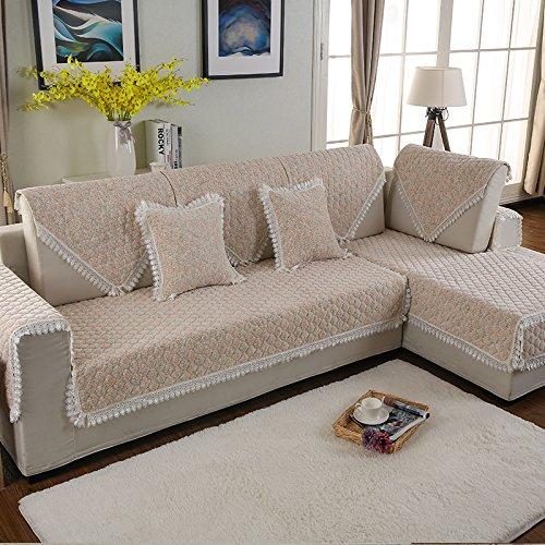Hl sontuoso divano mat antiscivolo copridivano asciugamano europea e americana di tipo - Cuscino per divano ...