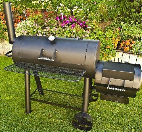 77kg-Profi Super XXL Smoker, BBQ Grillwagen für den Profi
