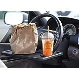 Roogeld Stuurwiel Bureau, Auto Tafel Auto Stuurwiel Lade en Voertuig Seat Mount Notebook Laptop Bureau, Voedsel Eten Lade Bur