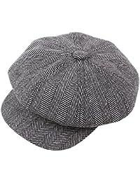 Styledresser Berretti da Uomo Unisex Vintage ▾ Cotone Cappello Inverno  Mantellina più Caldo Berretti Cappello 373d130e00c5