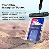 Waterproof Case[2Packs], Mpow IPX8 Watertight Sealed Underwater Dry Bag, Durable Waterproof Pouch Bag with Portable Lanyard for iPhone 7/6s, 7/6s plus, 5s, SE and Other Smartphone