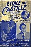 Étoile de Castille (Que bueno debe ser) - Patrice & Mario, Luis Mariano, Félix Valvert - Société d'Éditions Musicales Internationales S.E.M.I. - partition