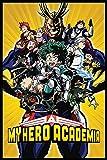 My Hero Academia radiale character Burst poster maxi, carta,, 91.5x 61x 0.03cm