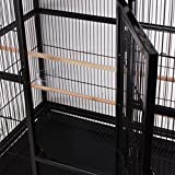 Ridgeyard Großer Vogel Papageienkäfig Haus Playtop Cage Perches mit beweglicher Räder stehen - 6