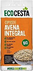 Ecocesta Copos Suaves de Avena Integral Ecológica sin Azúcar Aptos para Veganos (1kg)