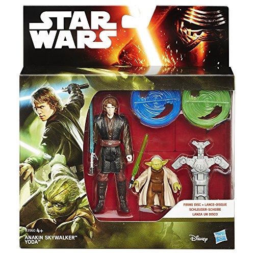 Star Wars Rache der Sith 3.75-Inch Wald Mission Anakin Skywalker und Yoda-figur (Doppelpack) - 2