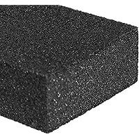 Limpieza Esponja y estropajo con Rahina–Piedra–negro Caspio–mejor goma de borrar esponjas de limpieza para cocina, baño, fregaderos de ollas, sartenes,–Sólo tiene que añadir agua sin necesidad de detergente