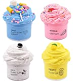Cutiecute Slime Kit,Super Soft & Non-Sticky, Stress Relief Toy Scented Sludge Toy for Kids Education, Party Favor, Gift and B
