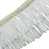 Polster Dekorativen Weißen Perlen Fransen Band Vorhang Bastelbedarf Durch Den