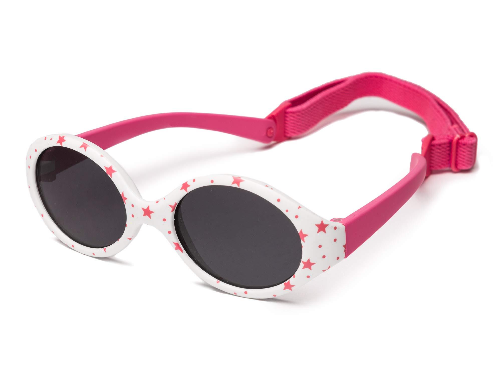Kiddus Gafas de sol POLARIZADAS bebe para niños y niñas a partir de 6 meses. SUPER FLEXIBLES. Protección solar UV400… 1