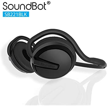 Soundbot SB22 Bluetooth Headphones (Silver/Black)
