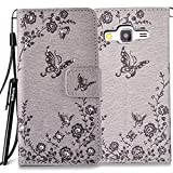 BtDuck Leather Wallet Case for Samsung Galaxy Core Prime SM - G360 inch