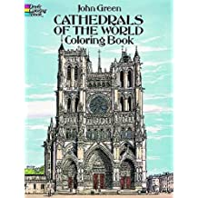 CATHEDRALS OF THE WORLD. Coloring book