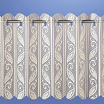 Pleated Vertical Blind White Net Curtain Heavy Thick