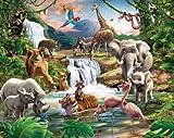 Fototapete - Wandbild: Entdecke den Dschungel