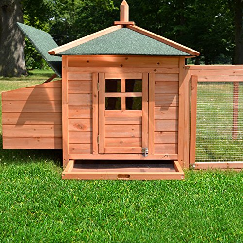 Zooprimus Hühnerstall 39 Geflügelhaus – OREO – Stall für Außenbereich (für Kleintiere: Hühner, Geflügel, Vögel, Enten usw.) - 5