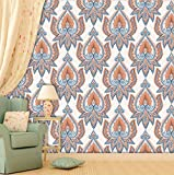 PPD Wallpapers. High Quality Stone Brick Wall Effect Pre Gummed Wallpaper (Self Adhesive) (Large Roll / 45 SqFt) (13)