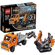 LEGO Technic 42060 - Equipo de trabajo en carretera