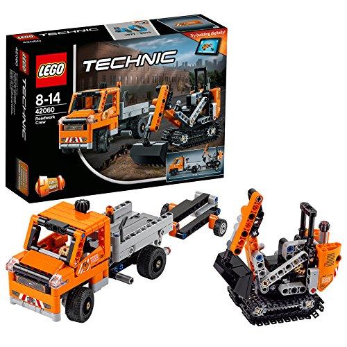 LEGO Technic 42060 - Straßenbau-Fahrzeuge, Bauspielzeug 3