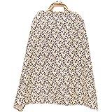 Freahap Couverture d'Allaitement Serviette d'allaiter en Coton Respirant