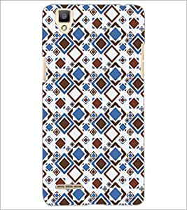 PrintDhaba Pattern D-5238 Back Case Cover for OPPO F1 (Multi-Coloured)