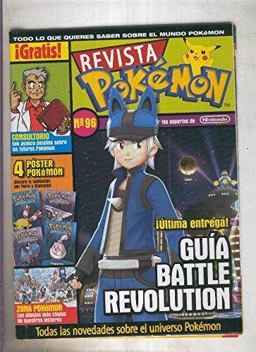 Revista pokemon numero 96