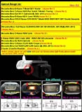 Navinio cámara de espejo reversible de copia de seguridad, cámara de matrícula retrovisora impermeable para C-Class W203 E-Class W211 CLS W219 W209 R171 (N ° 2 tamaño 25 * 65mm hasta borde redondo)