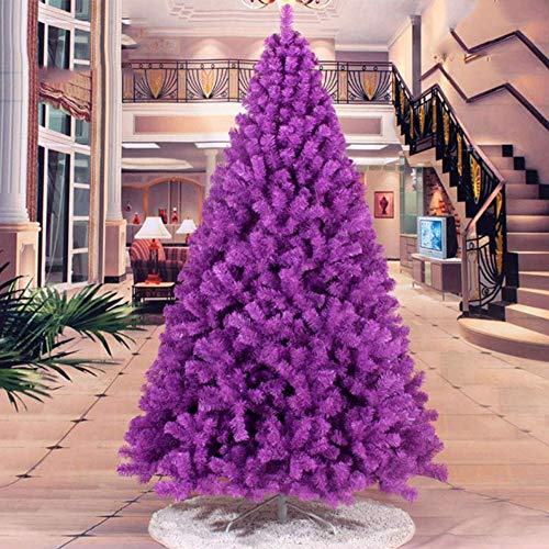 Toosd viola artificiale natale/albero di natale, albero di natale artificiale adatto per natale, festa, decorazione della casa, hotel, centro commerciale 90cm-240cm,60cm