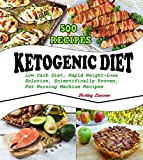 KETOGENIC DIET: 500 Low Carb Diet Recipes, The Rapid Weight-Loss Solution, Scientifically Proven,Fat Burning Machine