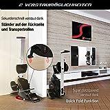 Sportstech Rudergerät RSX400 mit Smartphone APP, Pulsgurt inkl. - Rudermaschine für Ihr Zuhause, klappbar mit 8fach einstellbarem Magnetwiderstand und kugelgelagertem Sitz - 7
