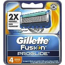 Ancienne Version Gillette Fusion ProGlide Lames de Rasoir Pack de 4