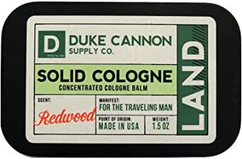 Redwood : Duke Cannon Men's Solid Cologne, 1.5oz. - Land