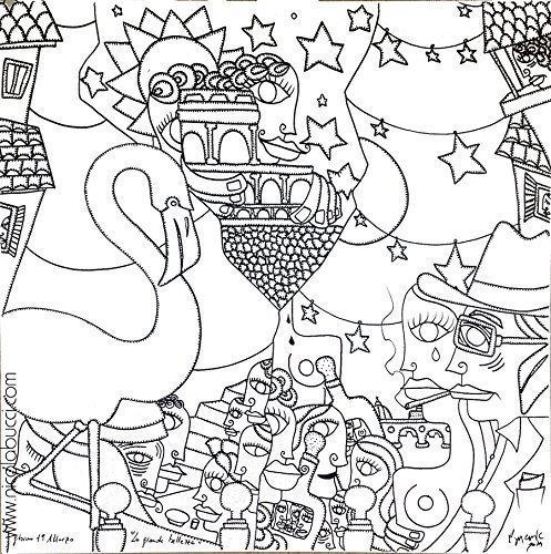 la-grande-bellezza-inchiostro-su-tela-100x100-cm-2014