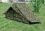 Niederländisches Einmannzelt mit Boden tarn gebraucht Festivalzelt 1-Personen-Zelt