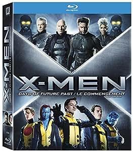 X-Men - La Prélogie : X-Men : Days of Future Past + X-Men : Le commencement [Blu-ray]