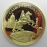 Yoin Ukraine Goldmünzen Kaiser Peter Bronze Knight Russische Münzen Ukraine Gedenkmünze