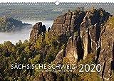 Sächsische Schweiz Kalender 2020 - Wandkalender Quer (50 x 34 CM, Größer Als A3) - Kalender Sächsische Schweiz 2020 - Kalender Landschaft