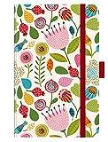 Premium Timer Small Spring Flowers 2019: Buchkalender - Terminplaner mit hochwertiger Folienveredelung und Prägung. 9 x