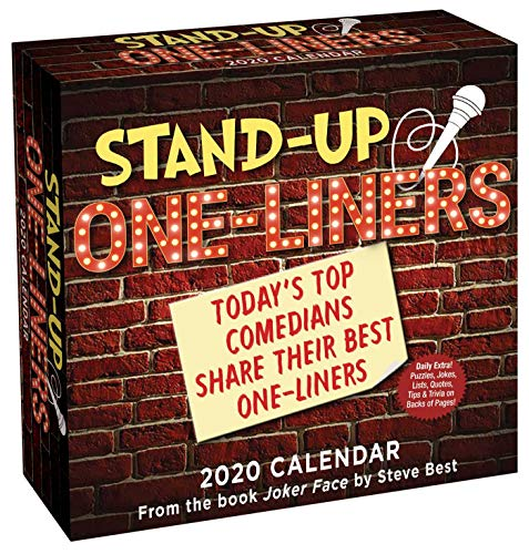 Stand-Up One-Liners 2020 Day-To-Day Calendar: Today's Top Comedians Share Their Best One-Liners